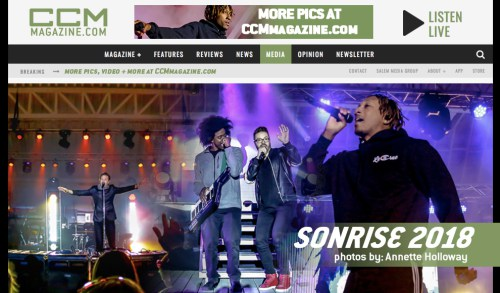 SonRise, CCM Magazine - image